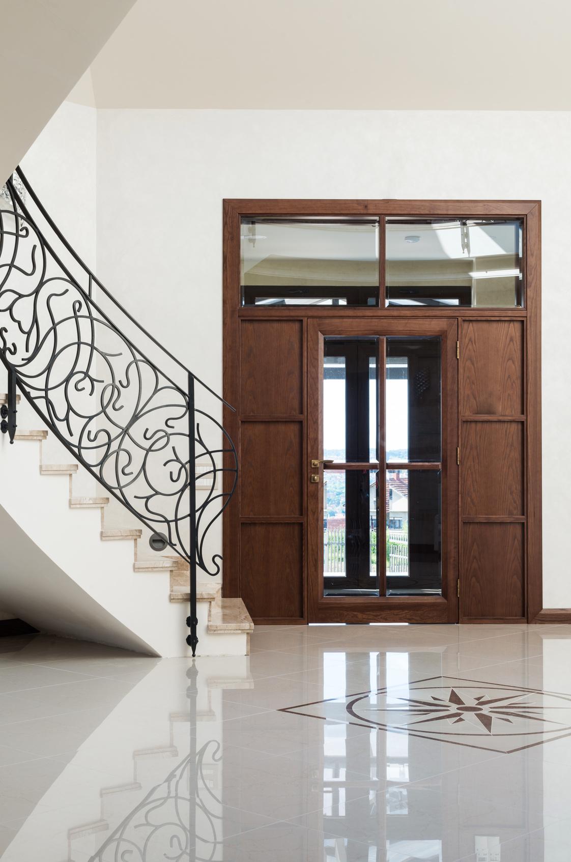 sauberlauf im eingangsbereich f r saubere b den im haus maler fischer. Black Bedroom Furniture Sets. Home Design Ideas